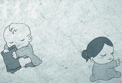 幼儿园照顾洋娃娃步骤图
