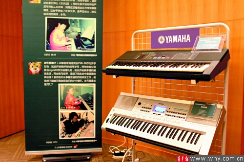 业电子琴演奏者图片