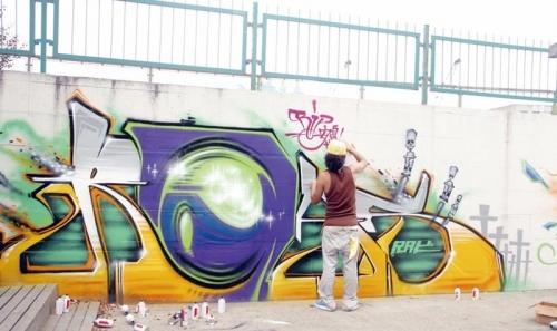 暴走街头涂鸦墙 2图片