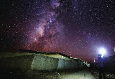 临港建设开始让这里灯火通明,2005年只能去上海最后的观星胜地崇明岛