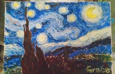 如何画油画步骤图解