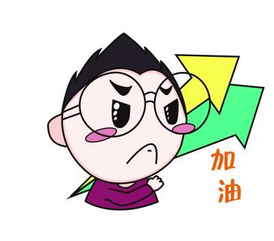 """90后手绘""""普小陀""""表情包成网红"""