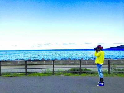 李同学表示骑行台湾最美的风景是人.