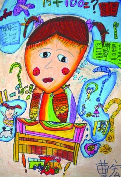 校园绘画大赛主题展示