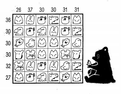 用阿拉伯数字画动物