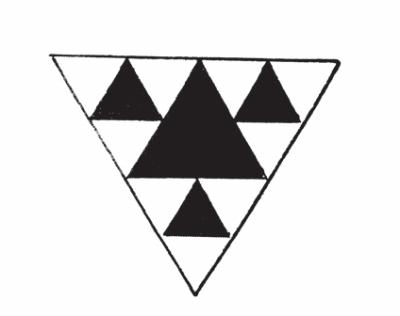 三角形窗花步骤及图案